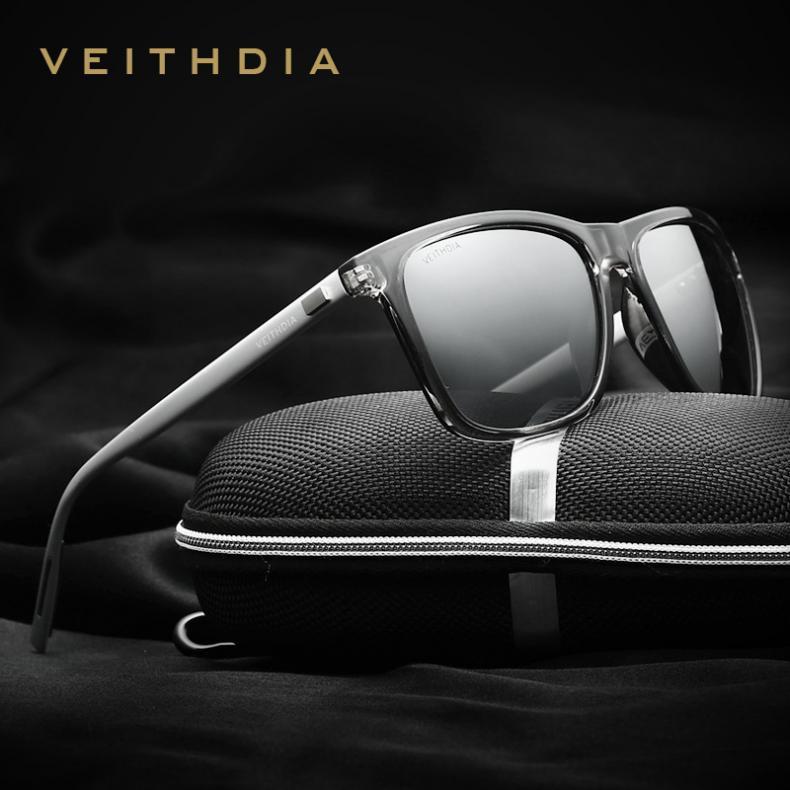 bce0253af4 VEITHDIA Brand Unisex Retro Aluminum+TR90 Sunglasses Polarized Lens Vintage  Eyewear Accessories Sun Glasses For Men Women 6108