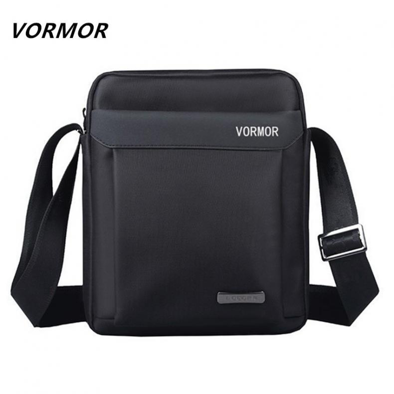 VORMOR Men bag 2017 fashion mens shoulder bags 417c25ad184af