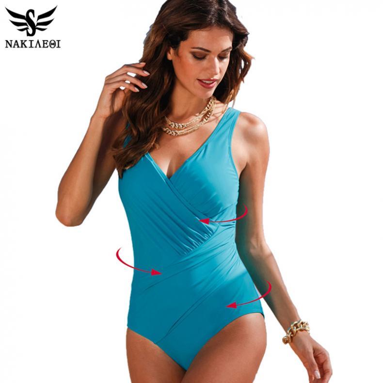 81268e91e8 HXBY Long Sleeve Swimwear Women One Piece Swimsuit Swimming Suit For ...